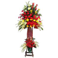Inaugural Flower Stand express delivery for grand opening for Philippines. Best online flower shop with many years experience.