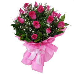 Bouquet roses by reliable online florist. Delivery service to Bonifacio Global City, Makati, Quezon City, Caloocan, Philippines. Same day delivery.