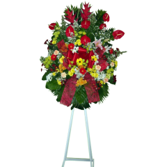 Spray of flowers for company anniversary or opening. Express delivery to Manila, Makati, Bonifacio Global City. Order from best online florist.