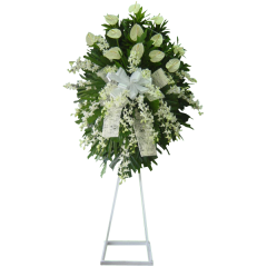 Sympathy funeral flowers. Express your deep condolences. Guaranteed fresh. Same day delivery Manila, Paranaque, Quezon City