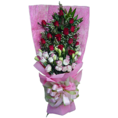 Spring flowers bouquet express delivery by Manila Blooms Flower shop. Same day delivery if ordered before cut off time 12 Noon PHT.