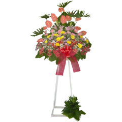 Inaugural Flower Stand express delivery for grand opening for Philippines. Best online flower shop with many years experience. Philippine flower shop will deliver in Metro manila Flower stand for company opening.