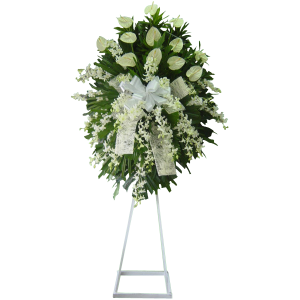 Sympathy funeral flowers. Express your deep condolences. Guaranteed fresh. Same day delivery Manila, Paranaque, Quezon City