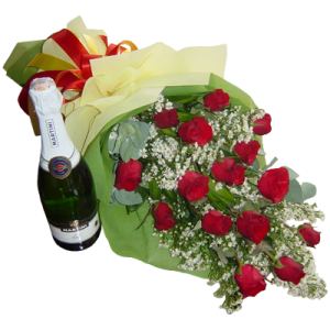 Celebrate a special occasion. Valentine's Day flower gift. Bouquet of roses express delivery by best Philippine online florist located in Makati.