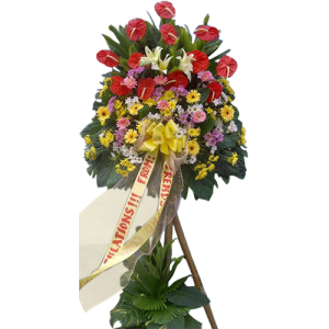 Send congratulatory flowers for company events, Inaugurals or openings. Delivery service by Makati flower shop.