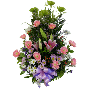 Send flower arrangement to hospitals. Delivery service by Manila Blooms flower shop.